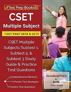 Best new cset multiple subject subtest 2 Reviews