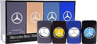 Mercedes Eau de Toilette 4 X 5ml (Benz Man+Benz Man Blue+Benz Man Private+Benz Man Grey) Set