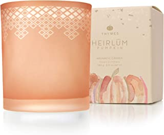Thymes - Heirlum Pumpkin Poured Candle with 65-Hour Burn Time - 6.5 Oz