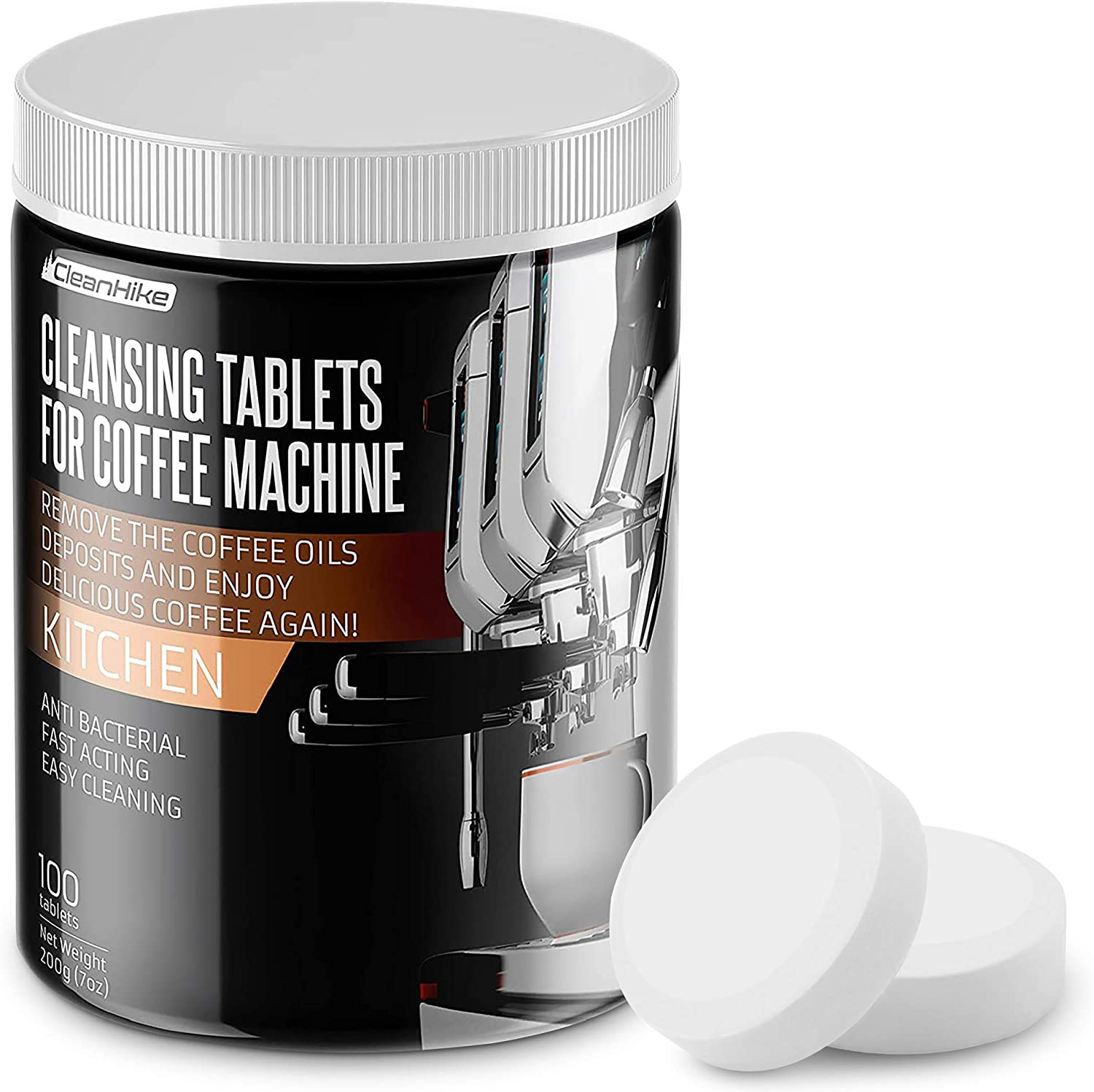 CleanHike Same day shipping Espresso Machine Cleaning For Tablets Ranking TOP1 100 -