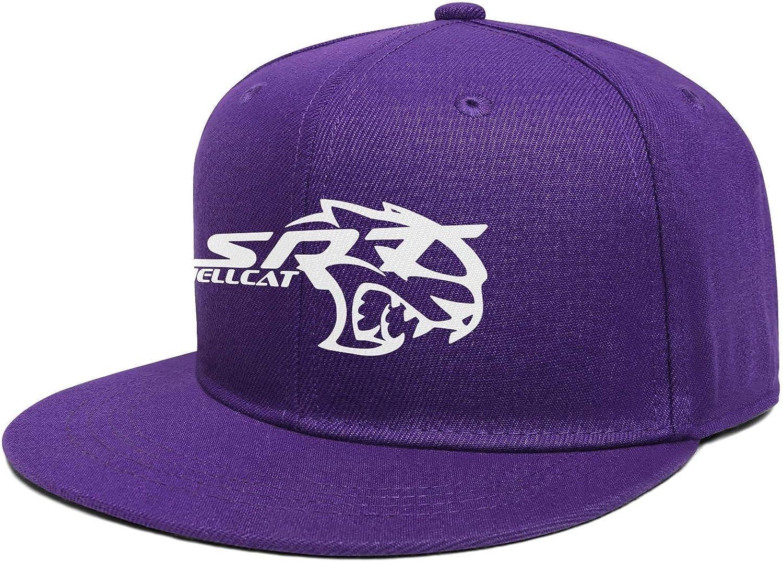 Flat Bill Fashion Cap Adjustable Snapback Beach Hat Multiple Color Women Mens Dodge-SRT-Hellcat