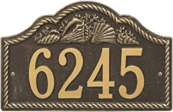 """Rope Shell Arch Address Plaque 15.5""""W x 10""""H (1 Line)"""
