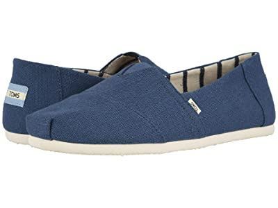 TOMS Venice Collection Alpargata (Airforce Blue Heritage Canvas) Men