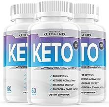 (3 Pack) Ketogenix Keto Max Pills Shark Tank Advanced Weight Loss Puretonics VIP Tablets Ketogenic As Seen On for Women Me...