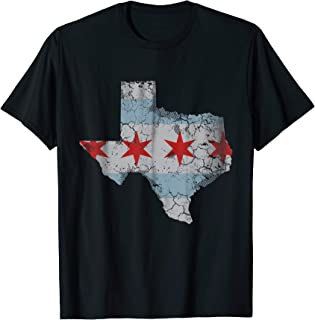 Texas Chicago Flag T-Shirt