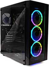 $589 » Periphio Gaming Desktop Computer Tower PC, Intel Quad Core i5 3.1GHz, 8GB RAM, 128GB SSD + 1TB 7200 RPM HDD, Windows 10, GeForce GTX 1650 4GB Overclocked Edition Graphics Card RGB HDMI Wi-Fi (Renewed)