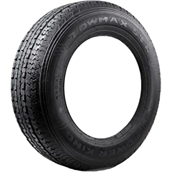Solid Trac Premium Trailer Bias Tire ST175//80D13
