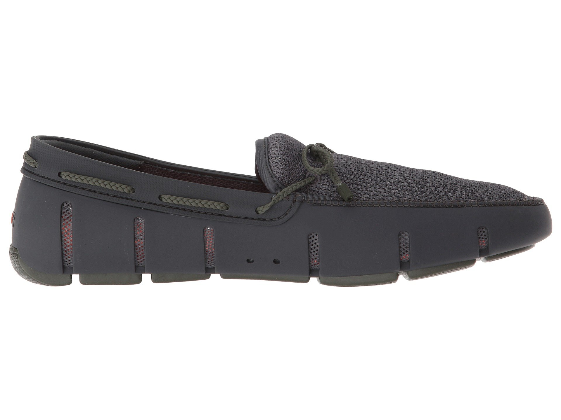 Swims olive Loafer Gray Dark Braided Lace rZ74fr