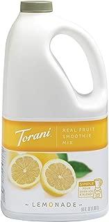 Torani Real Fruit Smoothie Mixes, Lemonade, 64 Ounce