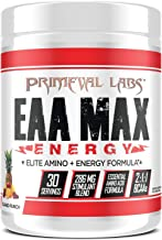 Primeval Labs EAA Max Energy, Muscle Energy & Nutrient Delivery, Enhances Muscle Protein Synthesis, Boosts Performance, Im...