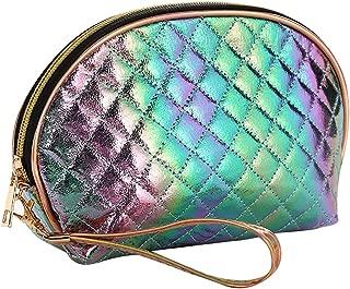 Bageek Shell Shape Diamond Makeup Storage Pouch Decor Women Cosmetic Bag Toiletry Pouch