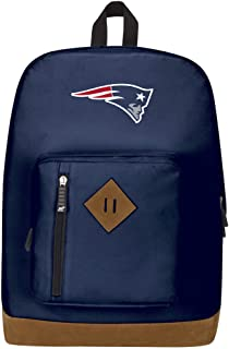 """Officially Licensed NFL New England Patriots """"Playbook"""" Backpack, Blue, 18"""" x 5"""" x 13"""""""