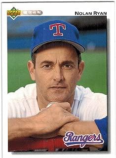 1992 Upper Deck Texas Rangers Team Set with Ivan Rodriguez & 2 Nolan Ryan - 26 MLB Cards