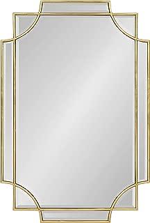 Best large gold leaf mirror Reviews
