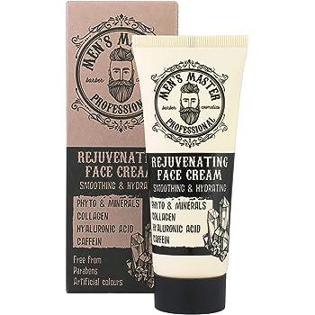 Crema anti-rughe viso ringiovanente, Cosmetici per uomo, Senza Parabeni, 75 ml di Men's Master
