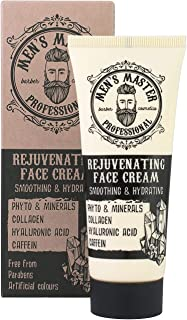Crema facial rejuvenecedora hidratante antiarrugas para hombre Sin parabenos sin colorantes artificiales. Volumen 75 ml ...