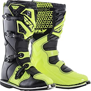 Fly Racing Unisex-Adult Maverick Mix Boots (Hi-Vis, Size 11)
