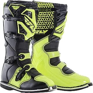 Fly Racing Unisex-Adult Maverick Mix Boots (Hi-Vis, Size 8)
