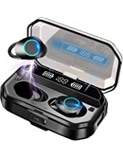 Bluetooth イヤホン ワイヤレスイヤホン Bluetooth 5.0+EDR CVC8.0ノイズキャンセリング 自動ペアリング 瞬間接続 Hi-Fi ブルートゥースイヤホン Type-C充電対応 片耳/両耳 左右分離型 マイク内蔵IPX7防水 ハンズフリー通話 超軽量…