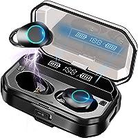 Bluetooth イヤホン ワイヤレスイヤホン Bluetooth 5.0+EDR CVC8.0ノイズキャンセリング 自動ペアリング 瞬間接続 Hi-Fi ブルートゥースイヤホン Type-C充電対応 片耳/両耳 左右分離型 マイク内蔵...