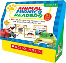 Animal Phonics Readers: A Big Collection of Exciting Informational Books That Target and Teach Key Phonics Skills