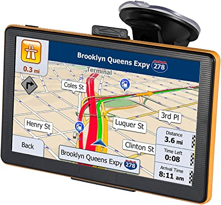 GPS Navigation for Car 7 Inch 8GB Touch Screen GPS Navigation System Preload 2018 North America