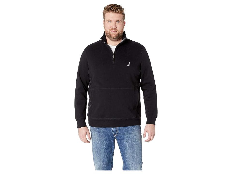 Nautica Big & Tall Big Tall Fleece Basic (True Black) Men