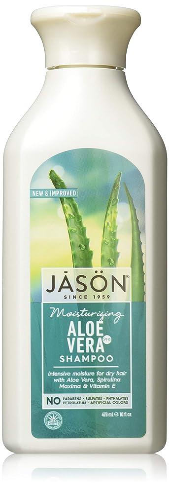 レンジ花火抑制Jason Natural Products Aloe Vera Gel Shampoo 84% 473 ml (並行輸入品)