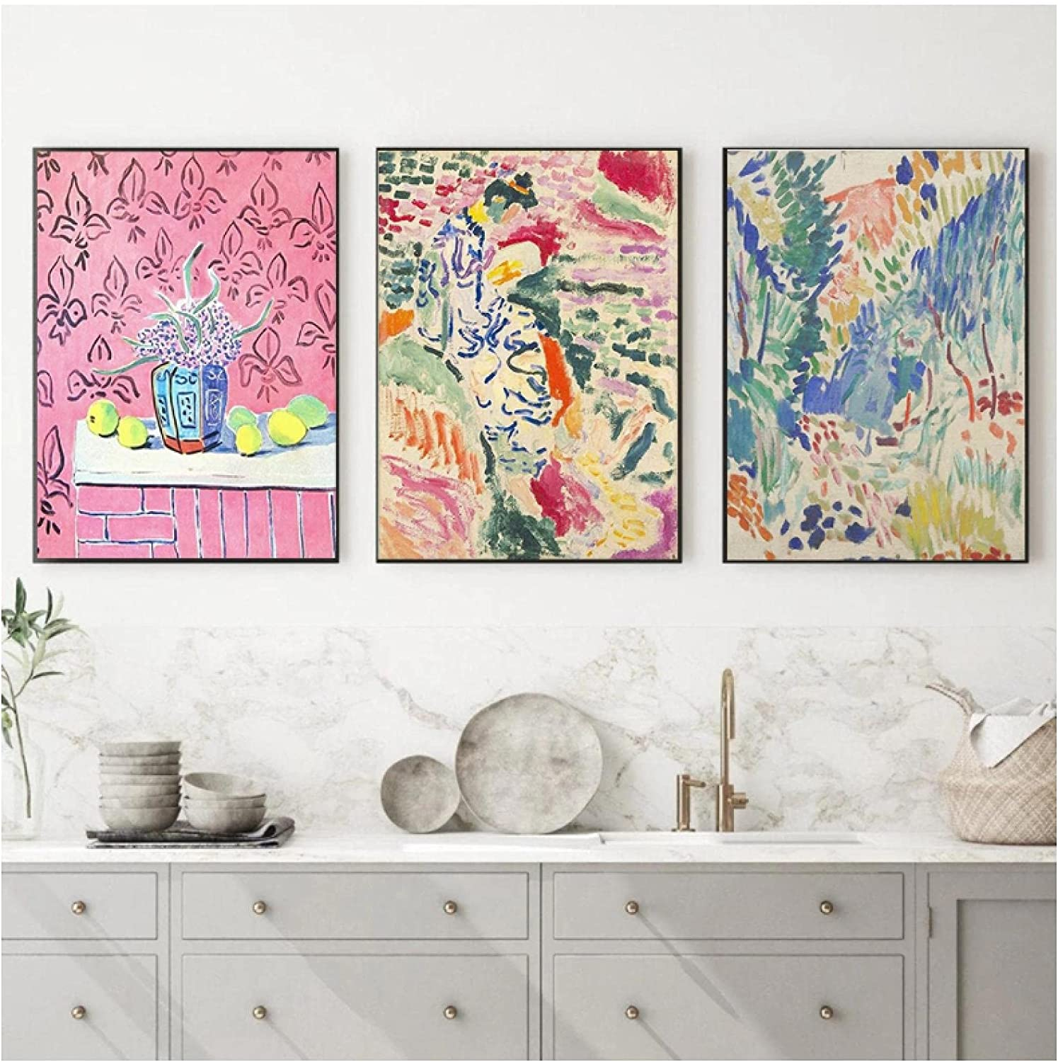 Over item handling ☆ Wall Art Painting Abstract Matisse Prints And Retro Cre Special Campaign Posters