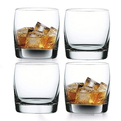 Nachtmann Vivendi Crystal Whisky Tumbler, Set of 4, 11.11 oz, Clear - 92040