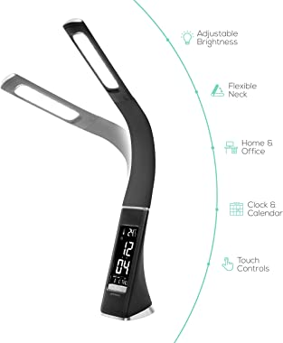 mbeat activiva LED Desk Table Lamp Eye Care Dimmable Reading Light Temperature 3 Brightness Level
