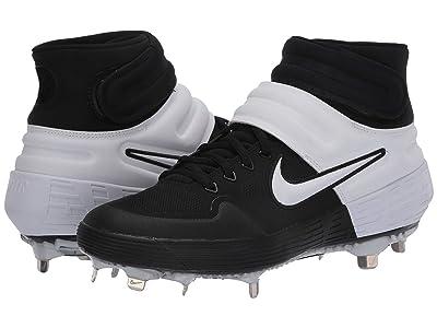 Nike Alpha Huarache Elite 2 Mid CS (Black/White/Black/White) Men