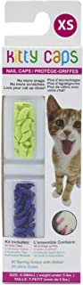 Kitty Caps Kitty Caps Nail Caps for Cats | Safe & Stylish Alternative to Declawing | Stops Snags and Scratches, X-Small (U...