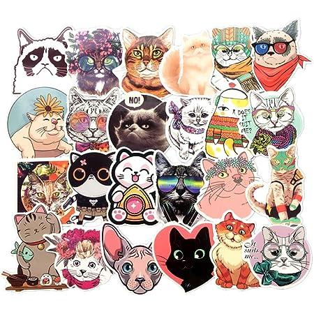 S to Large Peeping Kitten Cat hidden CAR DECAL VINYL STICKER BUMPER LAPTOP S0030