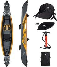 Aqua Marina Tomahawk Air-K 375 - 1 Person High Pressure Drop Stitch Premium Kayak