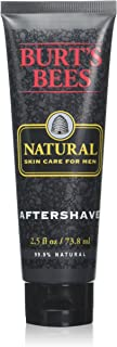 Burt's Bees Natural Skin Care for Men, Aftershave, 2.5 Ounces (Pack of 3)