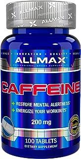 ALLMAX Nutrition, Caffeine,カフェイン 200 mg, 100錠 [並行輸入品]