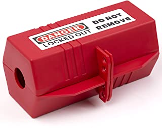 TRADESAFE Plug Lock for Lockout Tagout Electrical Plug Lockout. L Size - 220V. Power Cord Lock for Lock Out Tag Out. Safet...