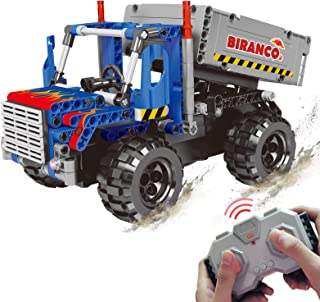 STEM Learning Kit | Truck Construction Toys with Remote...