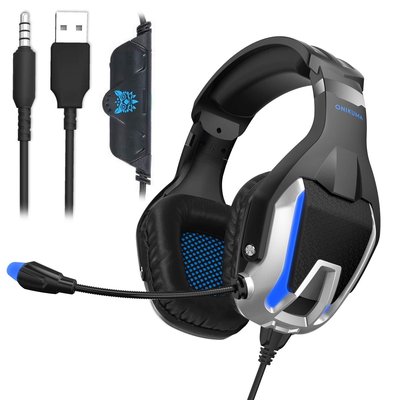 Gaming Headset,GAKOV MV3 USB PC Gaming