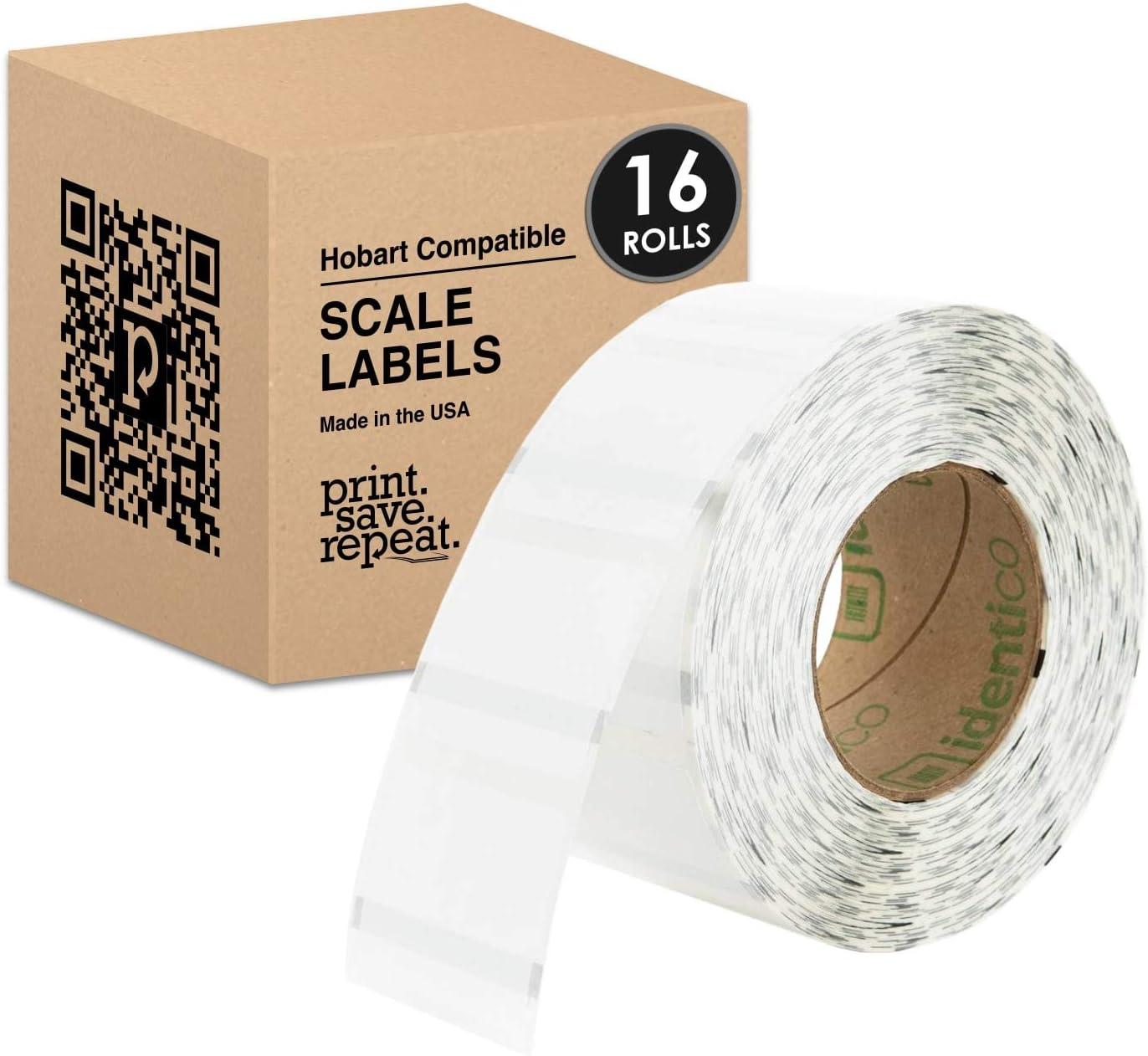 Hobart Quantum Scale 注文後の変更キャンセル返品 Labels ブランド買うならブランドオフ QWU175 2.25 1.75 Rolls in x 16