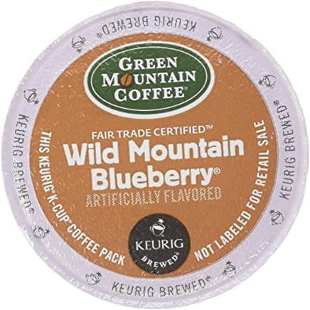Green Mountain Coffee, Wild Mountain Blueberry K-Cup Portion Pack for Keurig Brewers,