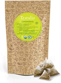 Best lemongrass tea caffeine Reviews