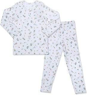 Toddler Kids Boys Girls Pajamas Cotton Long Sleeve 2 Piece Pjs Set