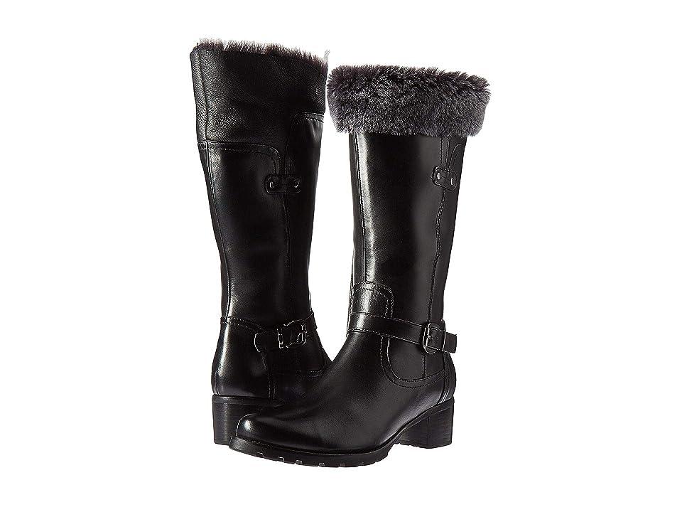 Blondo Flavia Waterproof (Black Leather) Women