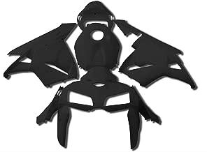 Yana Shiki BKH204BCK Black ABS Plastic Full Body Fairing Kit