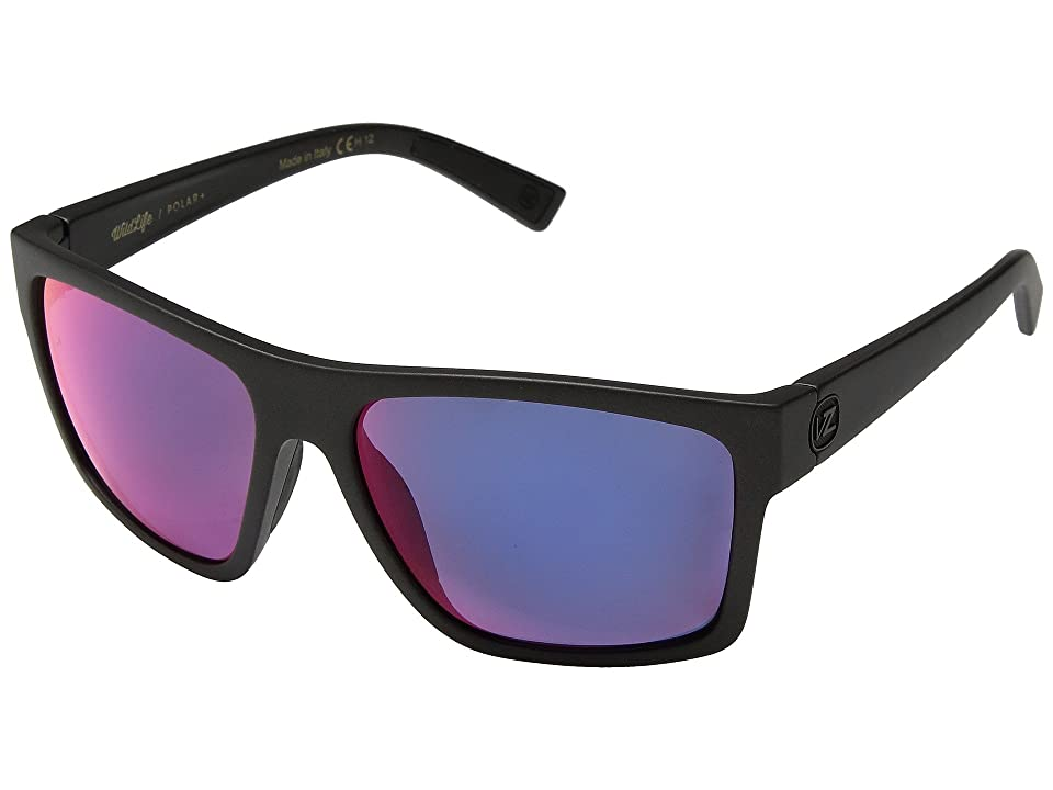 VonZipper Dipstick Polar (Graphite/Wild Plasma Chrome Polar Plus) Sport Sunglasses