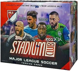 2017 Topps Stadium Club MLS Soccer 36ct Retail Box