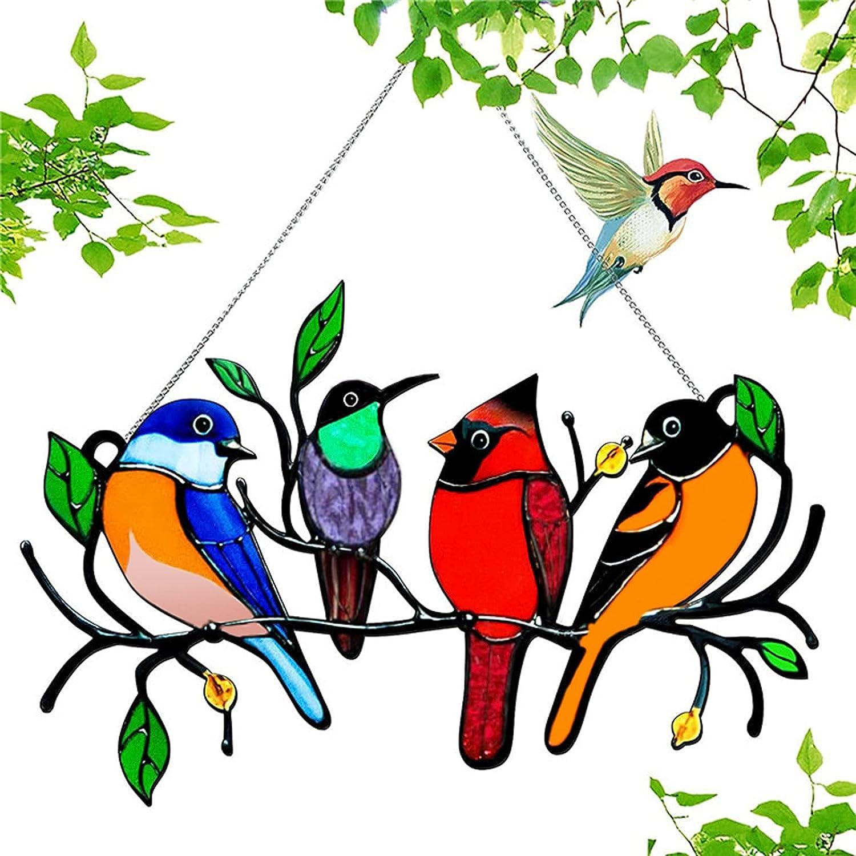 Creative Oklahoma City Indianapolis Mall Mall Bird Flocks Hanging Decorations Multiple 5 Birds Stain