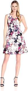 فستان لل نساء مقاس M , ازرق - فساتين عملية كاجوال